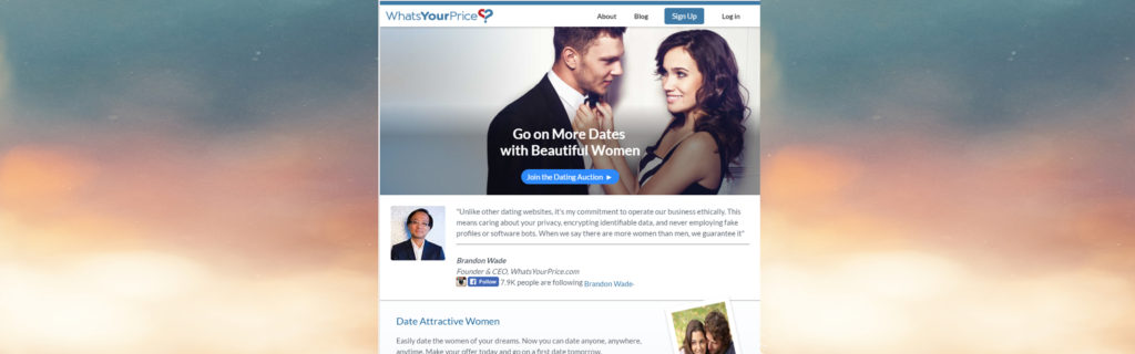What's your price dating site