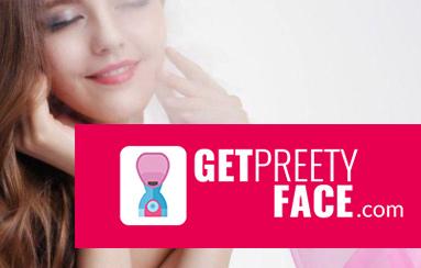 GetPrettyFace logo